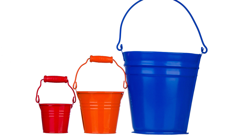 Big Buckets vs Small Bucket