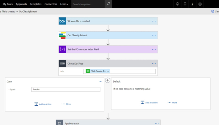 Microsoft Flow with Ephesoft OpenAPIs